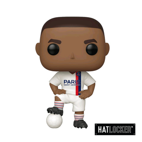 Pop Vinyl Football Paris Saint-Germain FC Kylian Mbappé White Jersey