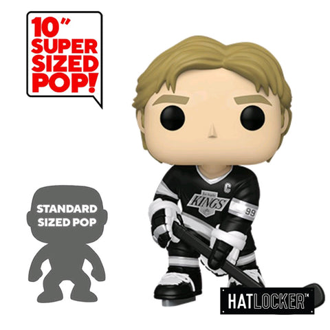 "Pop! Vinyl Hockey Sports Legends LA Kings Wayne Gretzky 10"" Black Jersey"