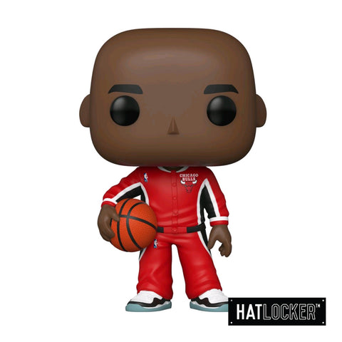 Pop Vinyl Basketball NBA Chicago Bulls Michael Jordan Red Warm Ups