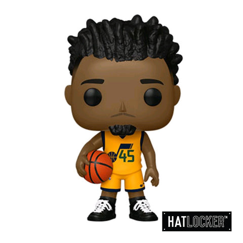 Pop Vinyl Basketball NBA Utah Jazz Donovan Mitchell Alt Jersey
