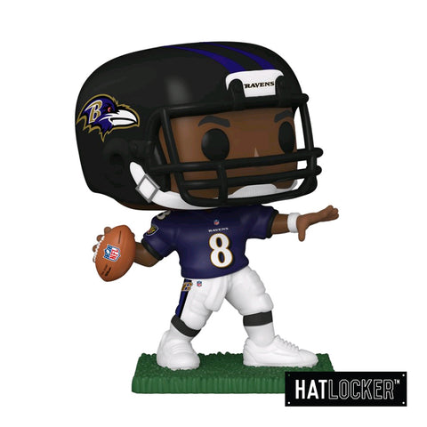 Pop Vinyl Football NFL Baltimore Ravens Lamar Jackson