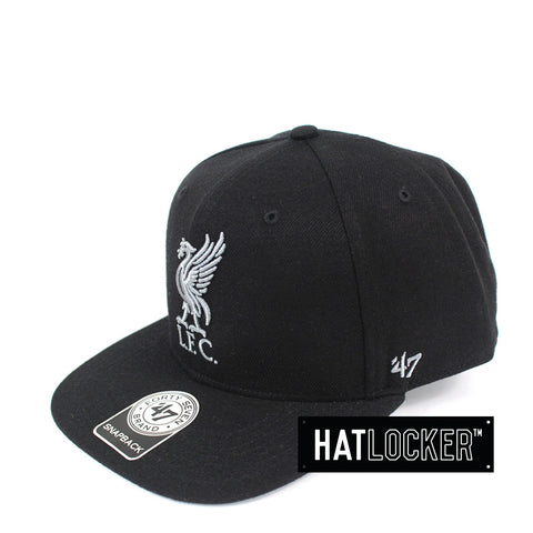 47 Brand - Liverpool FC Black No Shot Snapback