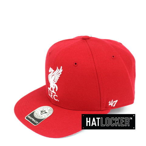 47 Brand Liverpool FC Red No Shot Snapback Hat
