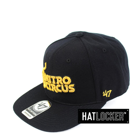 47 Brand - Nitro Circus Metallic No Shot Captain Snapback