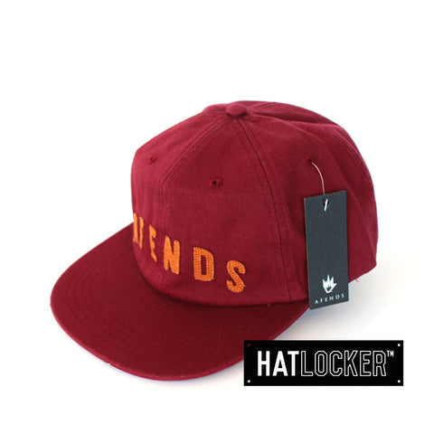 afends-barry-bonds-port-6-panel-hat