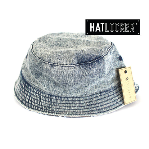 AFENDS Acid Blue Reversible Bucket Hat