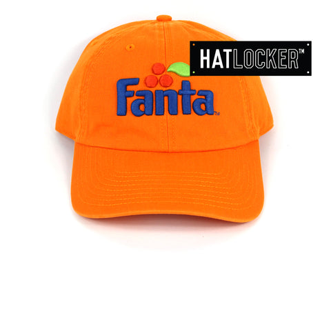 American Needle Fanta Ballpark Orange Strapback Cap