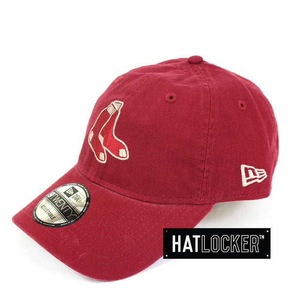 New Era Boston Red Sox Cardinal Curved Brim Cap