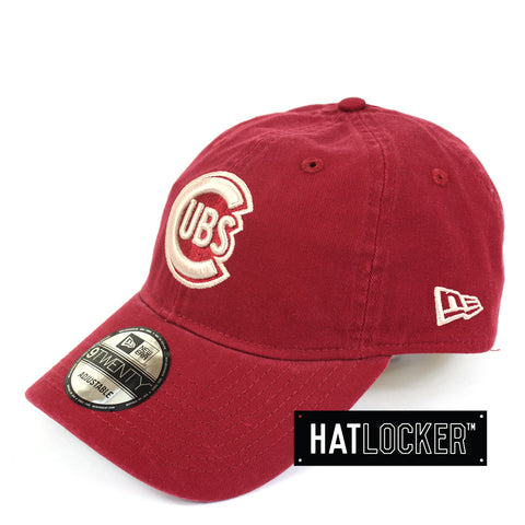New Era Chicago Cubs Cardinal Curved Brim Cap
