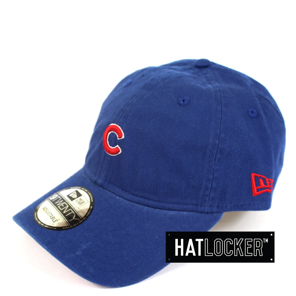 New Era Chicago Cubs Curved Mini Logo Brim Hat