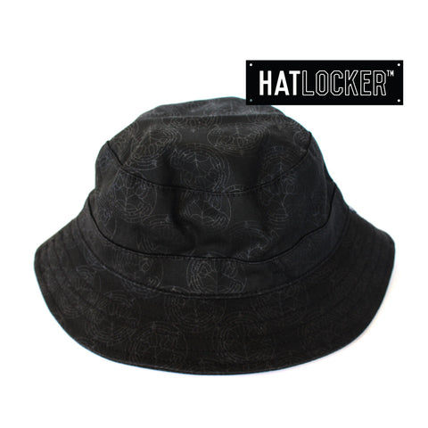 crooks-castles-cathedral-black-bucket-hat