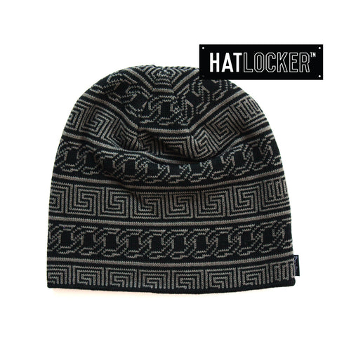 crooks-castles-chain-lux-black-beanie