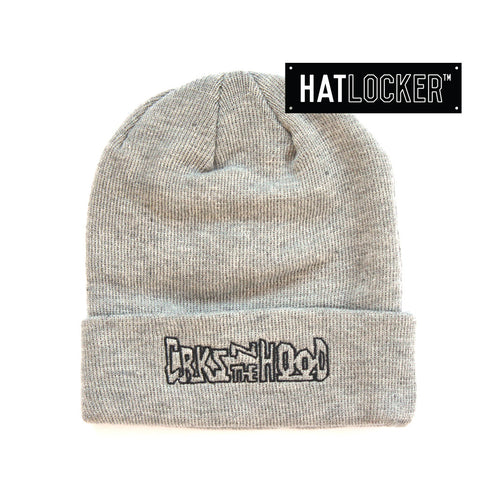 crooks-castles-crks-n-the-hood-speckle-grey-beanie