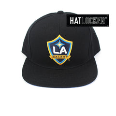 Hat Locker Custom - LA Galaxy Team Blue Floral Snaback