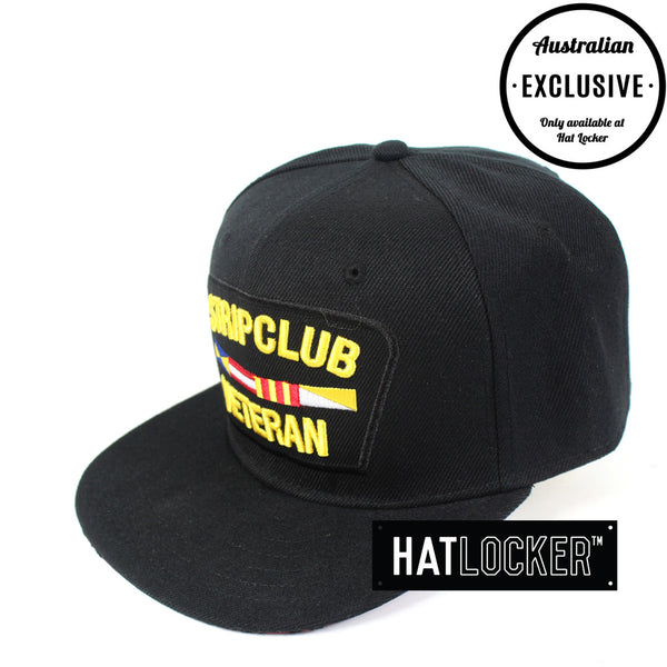Hat Locker Custom - Strip Club Veteran Black Snapback