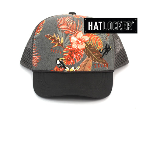 Dozer Jacob Kids Charcoal Trucker Cap Australia