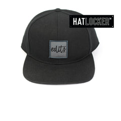 Edits 001 Grey Patch Snapback Hat Australia