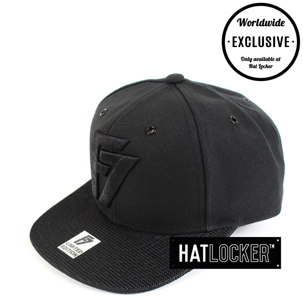F7 - Limited Edition Black Snapback 201-307