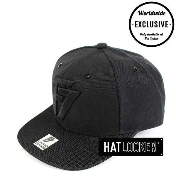 F7 - Limited Edition Black Snapback 101-200