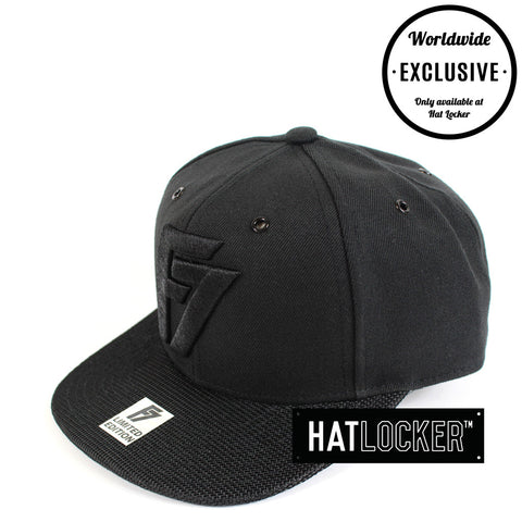 F7 - Limited Edition Black Snapback 1-100
