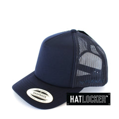 Flexfit - High Crown Mesh Navy Snapback