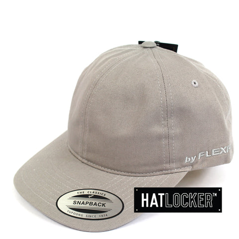 Flexfit Grey SV Dad Hat Snapback Cap Side