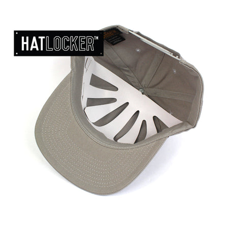 Flexfit Grey SV Dad Hat Snapback Cap Under