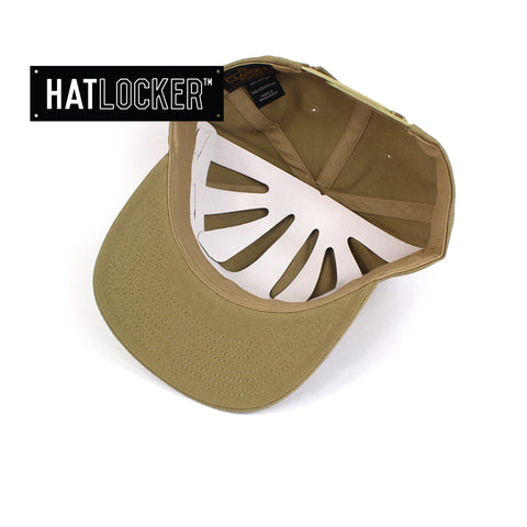 Flexfit Khaki SV Dad Hat Snapback Cap Under