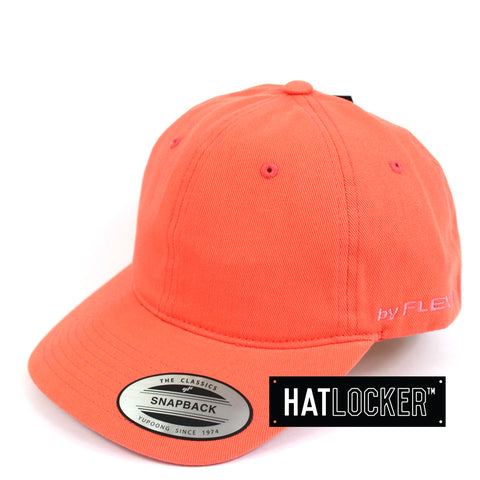 Flexfit Pale Red Coral SV Dad Hat Snapback Cap Side