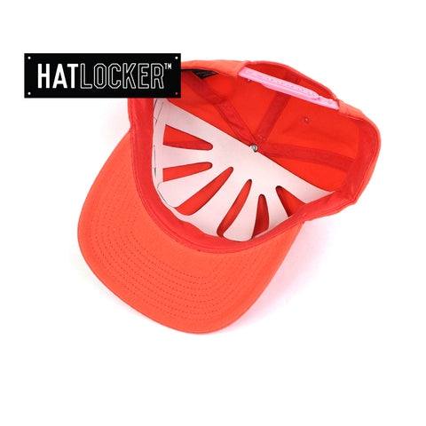 Flexfit Pale Red Coral SV Dad Hat Snapback Cap Under
