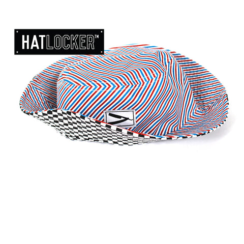 Frank's Chop Shop - Barber Stripe Bucket Hat