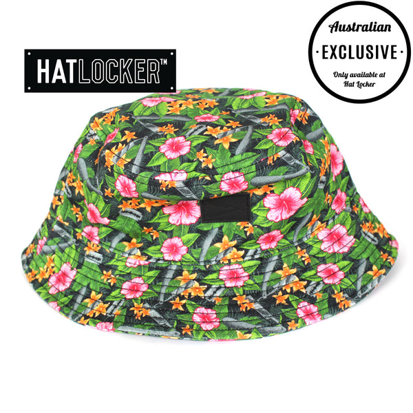 Frank's Chop Shop - Custom Floral Reversible Bucket Hat