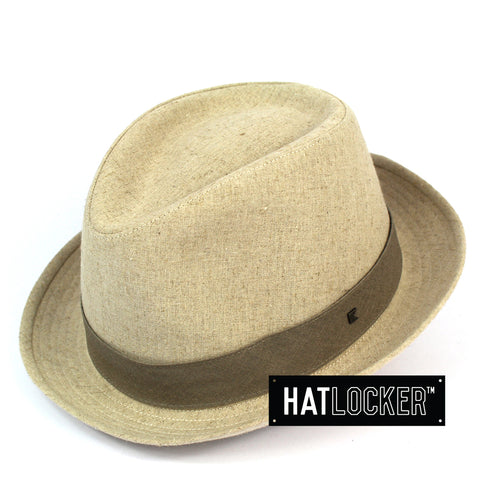 Kooringal 5th Avenue Men's Natural Fedora Hat