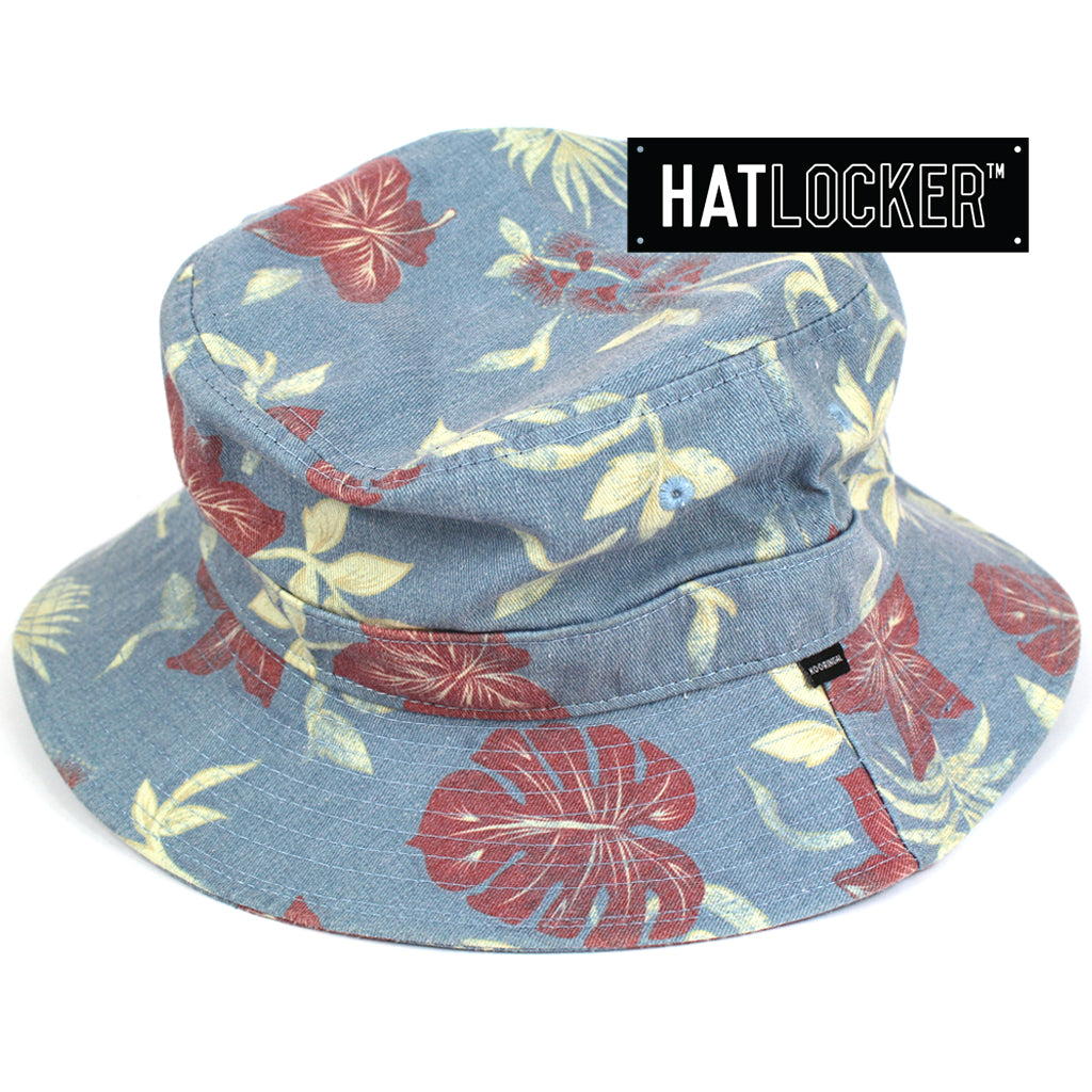 Kooringal Tropical Mens Blue Bucket Hat Australia
