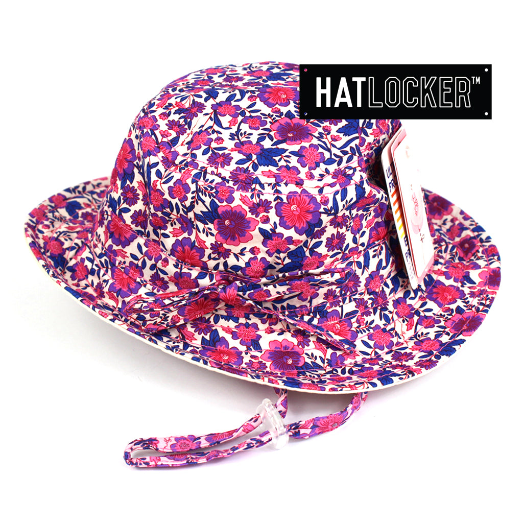 Millymook Ruby Kids Floppy Bucket Hat Australia