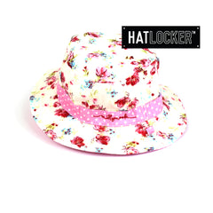 Millymook Vintage Floral Kids Bucket Hat Australia