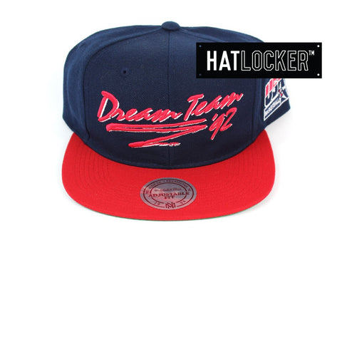 Mitchell and Ness 1992 Dream Team Deadstock Snapback Hat