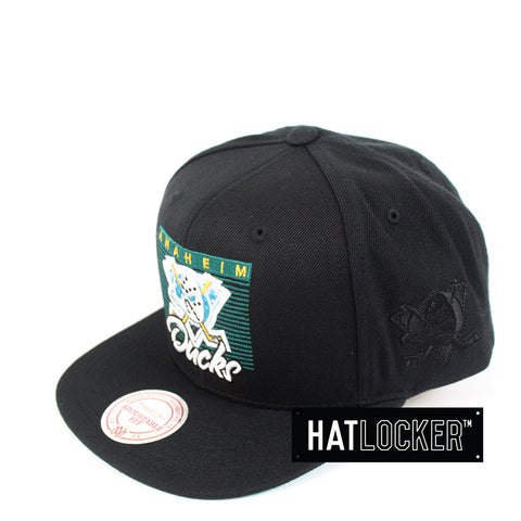 Mitchell & Ness - Anaheim Ducks Easy Three Digital Snapback