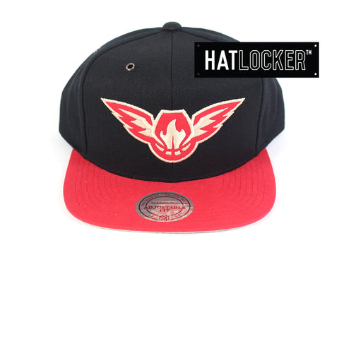 Mitchell & Ness - Atlanta Hawks Swift Snapback