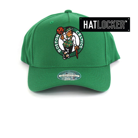 Mitchell & Ness Boston Celtics 110 Retro Team Curved Snapback