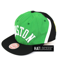 Mitchell & Ness Boston Celtics Anorak Snapback Hat