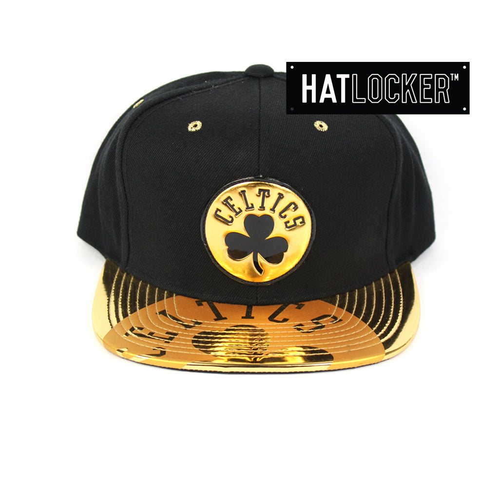 Mitchell & Ness Boston Celtics Gold Standard Snapback