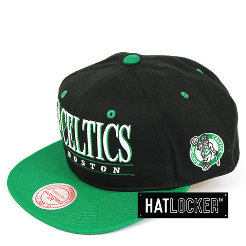 Mitchell & Ness Boston Celtics Horizon Snapback Cap