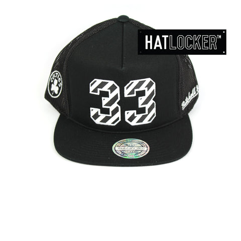 Mitchell & Ness Boston Celtics Name & Number Snapback Hat