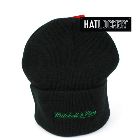 Mitchell & Ness Boston Celtics Black Cuff Knit Beanie