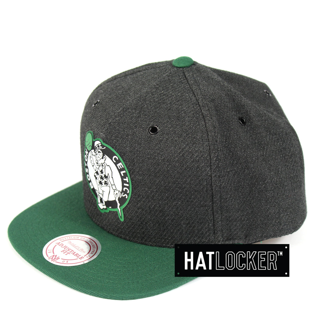 a2f20efffca9b Details about Mitchell   Ness - Boston Celtics Woven Reflective Snapback