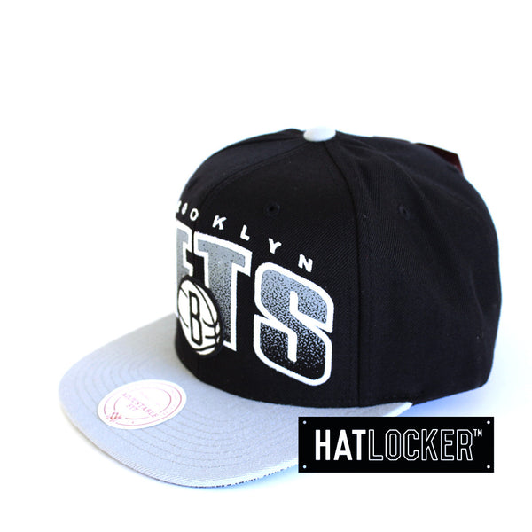 Mitchell & Ness - Brooklyn Nets Double Bonus Snapback