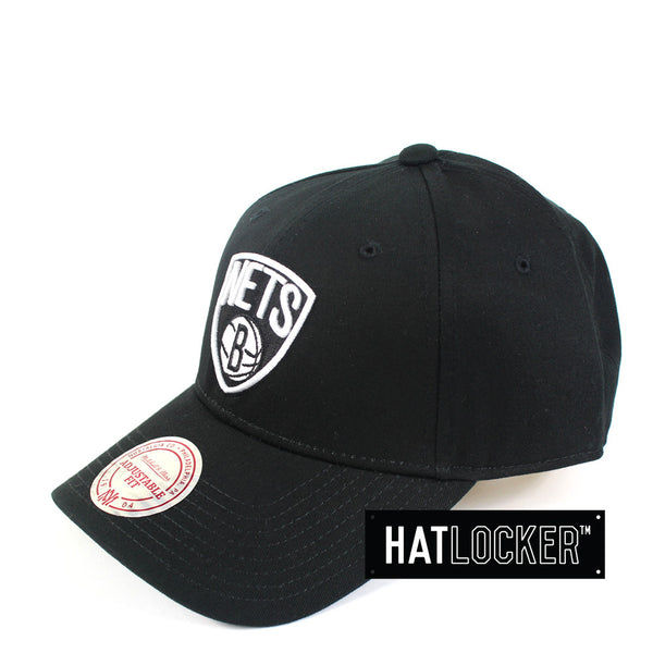 Mitchell & Ness - Brooklyn Nets Low Pro Curved Strapback