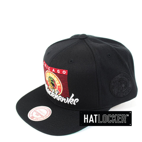 Mitchell & Ness - Chicago Blackhawks Easy Three Digital Snapback