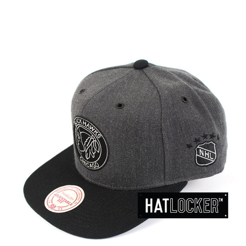 Mitchell & Ness - Chicago Blackhawks G3 Logo Snapback